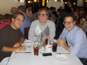 Doug, JJ and I LUNCH