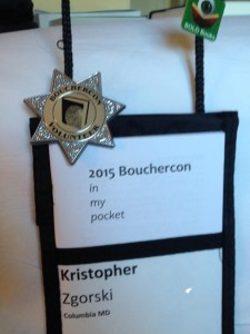 Bouchercon Badge